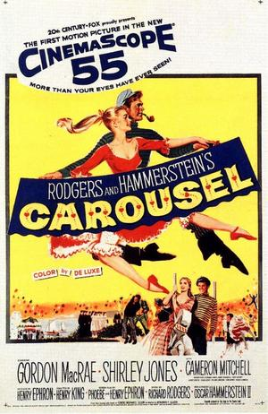 "Poster art for ""Carousel."""