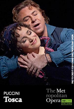"Poster art for ""The Metropolitan Opera: Tosca Encore."""