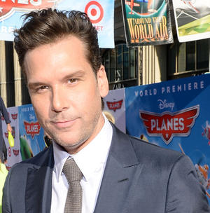"Dane Cook at the World premiere of ""Planes."""