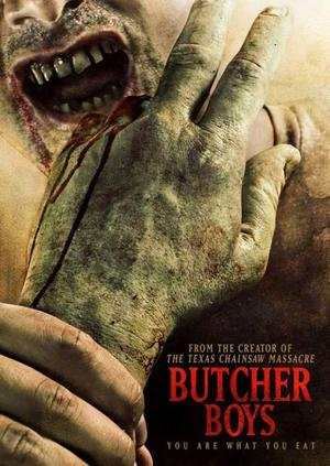"Poster art for ""Butcher Boys."""
