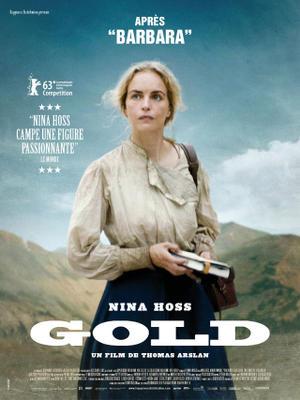 "Poster art for ""Gold."""
