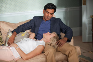 "Naomi Watts as Princess Diana and Naveen Andrews as Dr. Hasnat Khan in ""Diana."""
