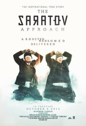 "Poster art for ""The Saratov Approach."""