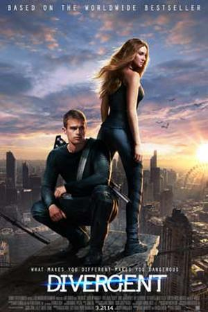 "Poster art for ""Divergent: The IMAX Experience."""
