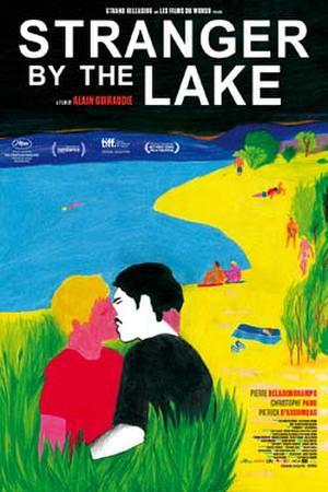 """Poster art for """"Stranger by the Lake."""""""