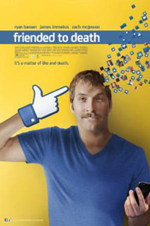 """Poster art for """"Friended to Death"""""""