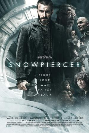 "Poster art for ""Snowpiercer."""