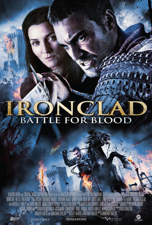 "Poster art for ""Ironclad: Battle for Blood."""