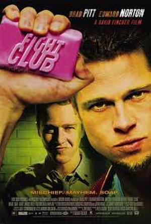 "Poster art for ""Fight Club."""