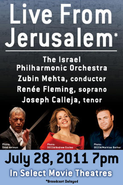 Renee Fleming Live with the Israel Philharmonic Orchestra Photos + Posters