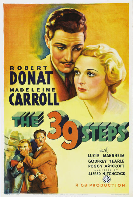 The 39 Steps / The Lady Vanishes Photos + Posters