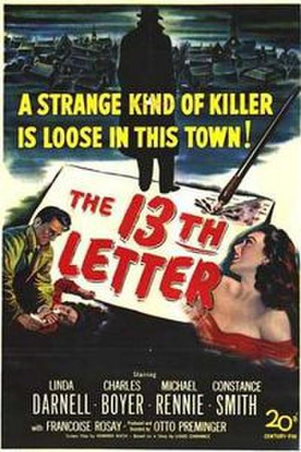 Bunny Lake is Missing / The 13th Letter Photos + Posters