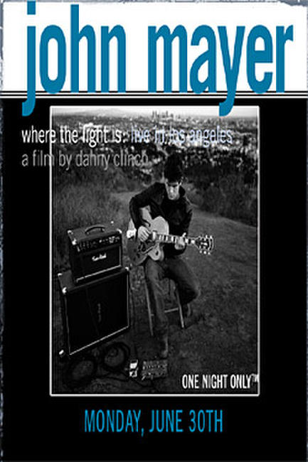 John Mayer: Where The Light Is Photos + Posters