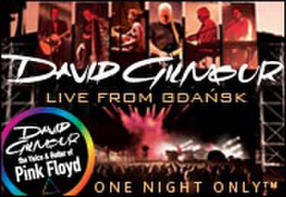 David Gilmour: Live in Gdansk Photos + Posters