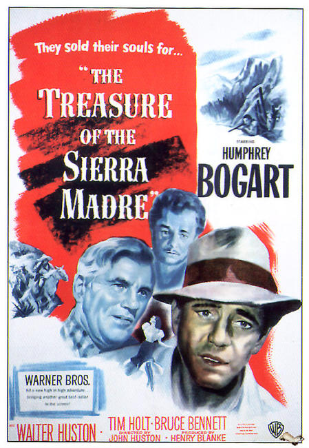 The Treasure of the Sierra Madre / The Sea Wolf (2009) Photos + Posters