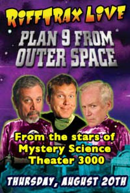RiffTrax LIVE: Plan 9 from Outer Space Photos + Posters