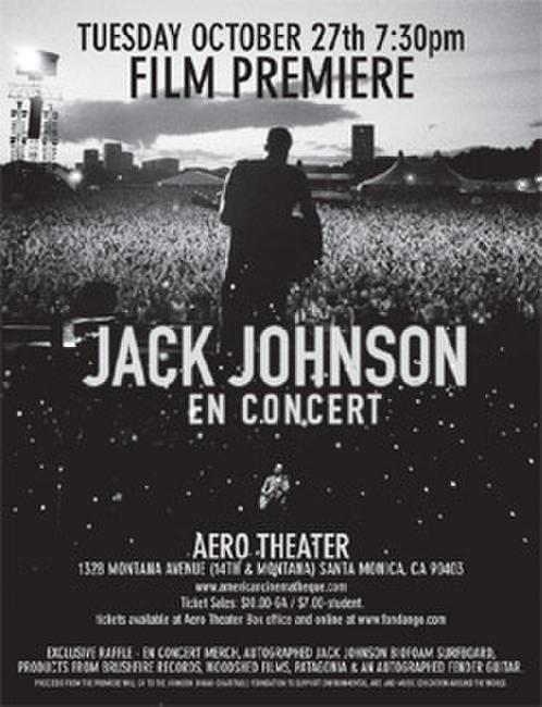 Jack Johnson: En Concert Photos + Posters