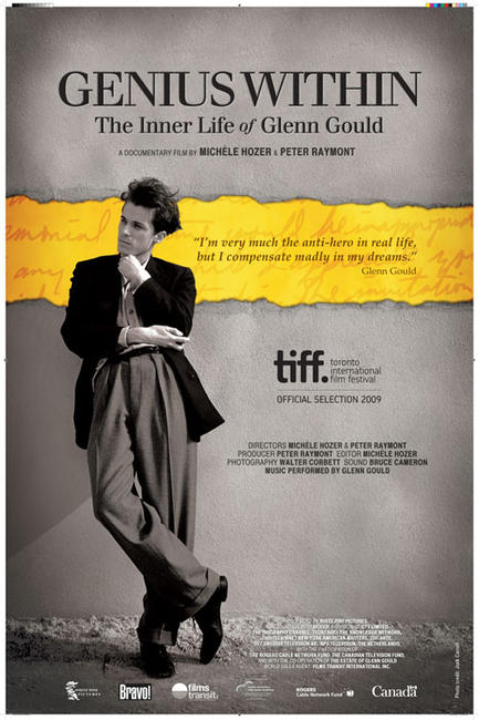 Genius Within: The Inner Life of Glenn Gould Photos + Posters