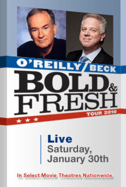 Bold and Fresh Tour: O'Reilly and Beck LIVE Photos + Posters