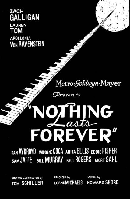 Nothing Lasts Forever / Schiller's Reel Photos + Posters