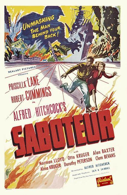 Saboteur / Rebecca Photos + Posters