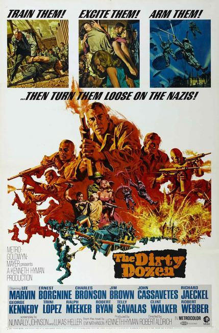 The Dirty Dozen / Attack (1967) Photos + Posters