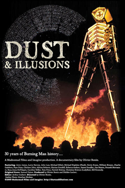 Dust and Illusions: History of Burning Man Photos + Posters