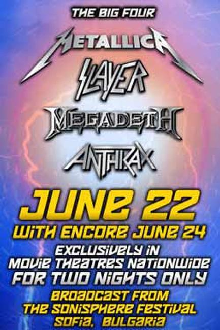 The Big Four: Anthrax, Megadeth, Metallica, Slayer Encore Photos + Posters