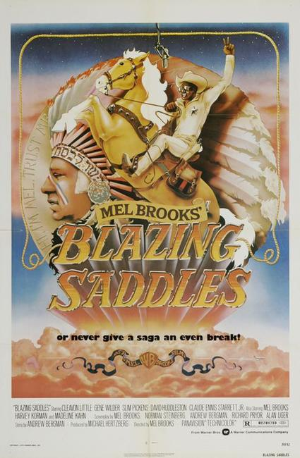 Blazing Saddles / Silent Movie Photos + Posters