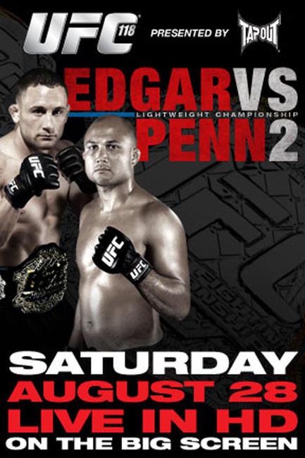 UFC 118: Edgar vs. Penn 2 Photos + Posters