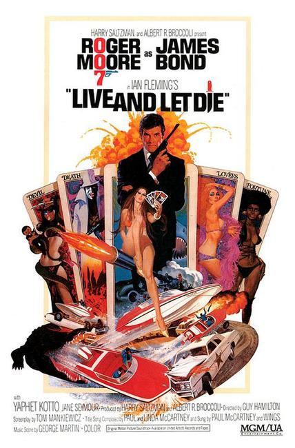 Live and Let Die / The Man with the Golden Gun Photos + Posters