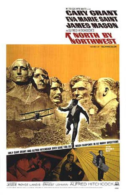 North by Northwest / To Catch a Thief Photos + Posters