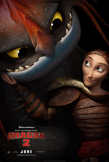 movie ticket how to train your dragon