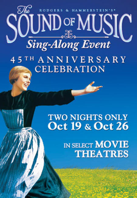 The Sound of Music Sing-Along Event Photos + Posters