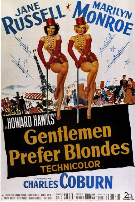Gentlemen Prefer Blondes / The Seven Year Itch Photos + Posters