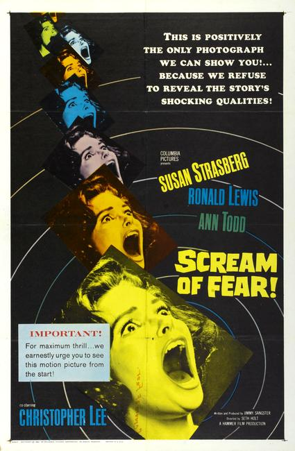 Scream of Fear/The Gorgon Photos + Posters