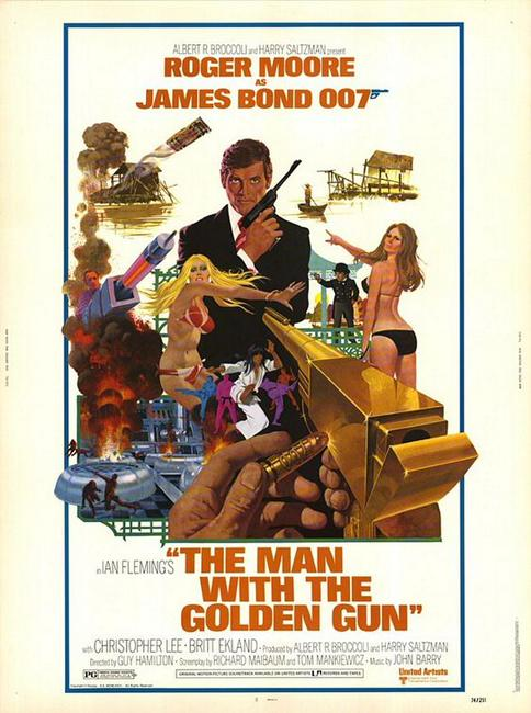 The Man With The Golden Gun / Octopussy Photos + Posters