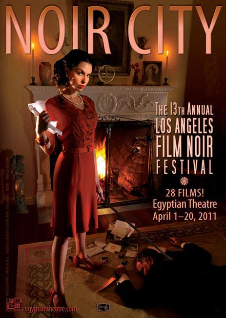 Film Noir Festival Pass Photos + Posters