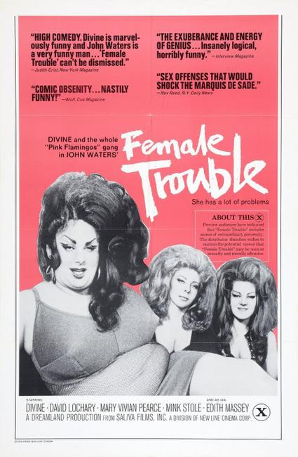 Female Trouble/Serial Mom Photos + Posters