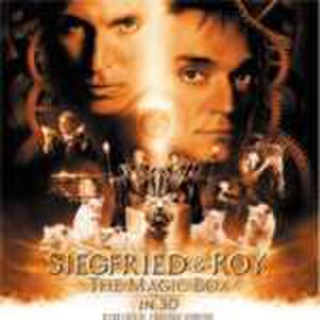 Siegfried & Roy: The Magic Box 3D Photos + Posters