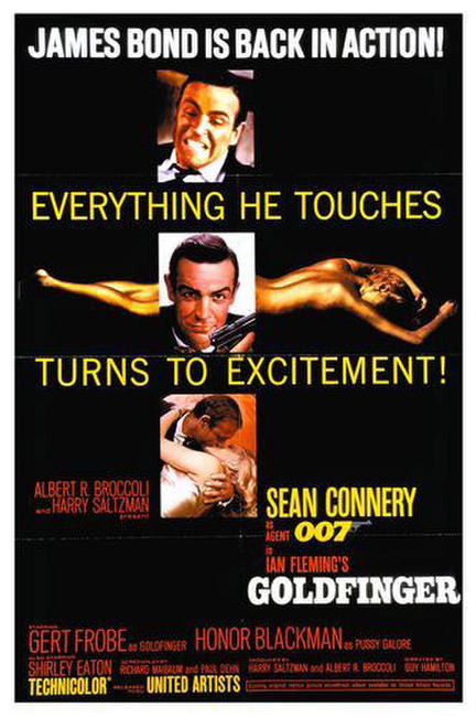 Goldfinger / Indiana Jones and The Last Crusade Photos + Posters