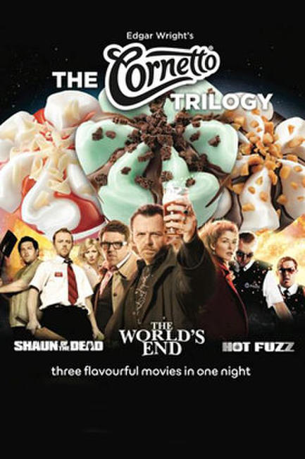 Edgar Wright's Cornetto Trilogy Photos + Posters