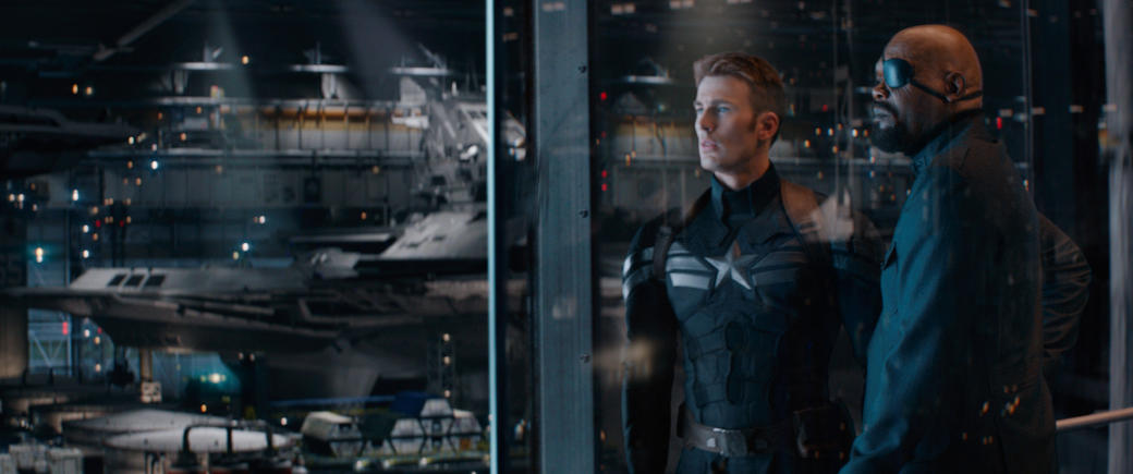 Marvel's Captain America: The Winter Soldier 3D Photos + Posters