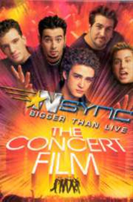 Nsync: Bigger Than Live Photos + Posters