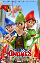 Sherlock Gnomes 3D showtimes and tickets