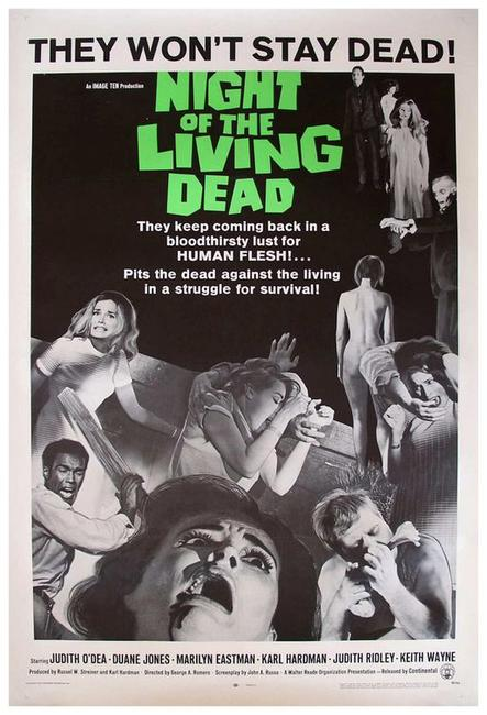 Night Of The Living Dead / Zombie Photos + Posters