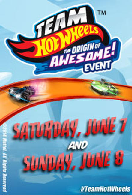 Team Hot Wheels: The Origin of Awesome Event Photos + Posters