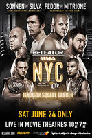 Bellator NYC: Sonnen vs. Silva showtimes and tickets