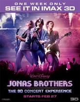 Jonas Brothers: The  3D Concert Experience in IMAX 3D showtimes and tickets
