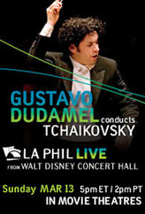 LA Phil: Dudamel conducts Tchaikovsky showtimes and tickets